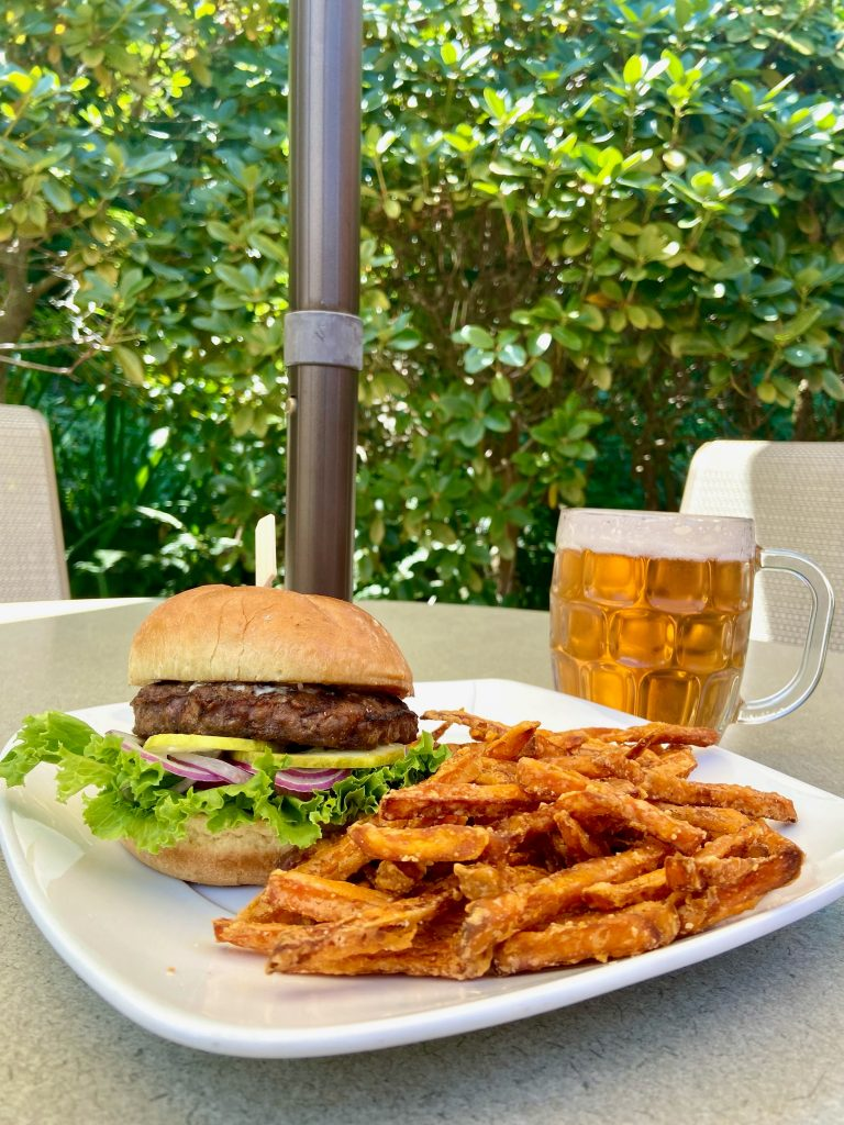 Burger and Beer Special